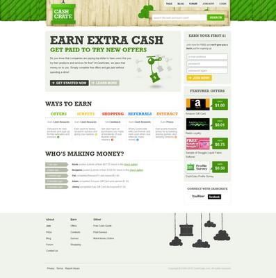 Cashcrate screenshot