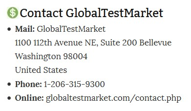 GTM Contact Information