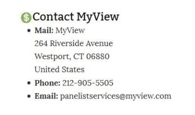 Myview address