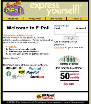 ePoll Surveys screenshot