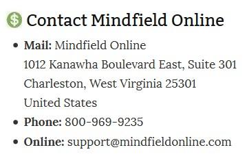 MindField Address
