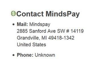 Mindspay Contact Info