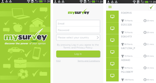 MySurvey Make Money Through Mobile