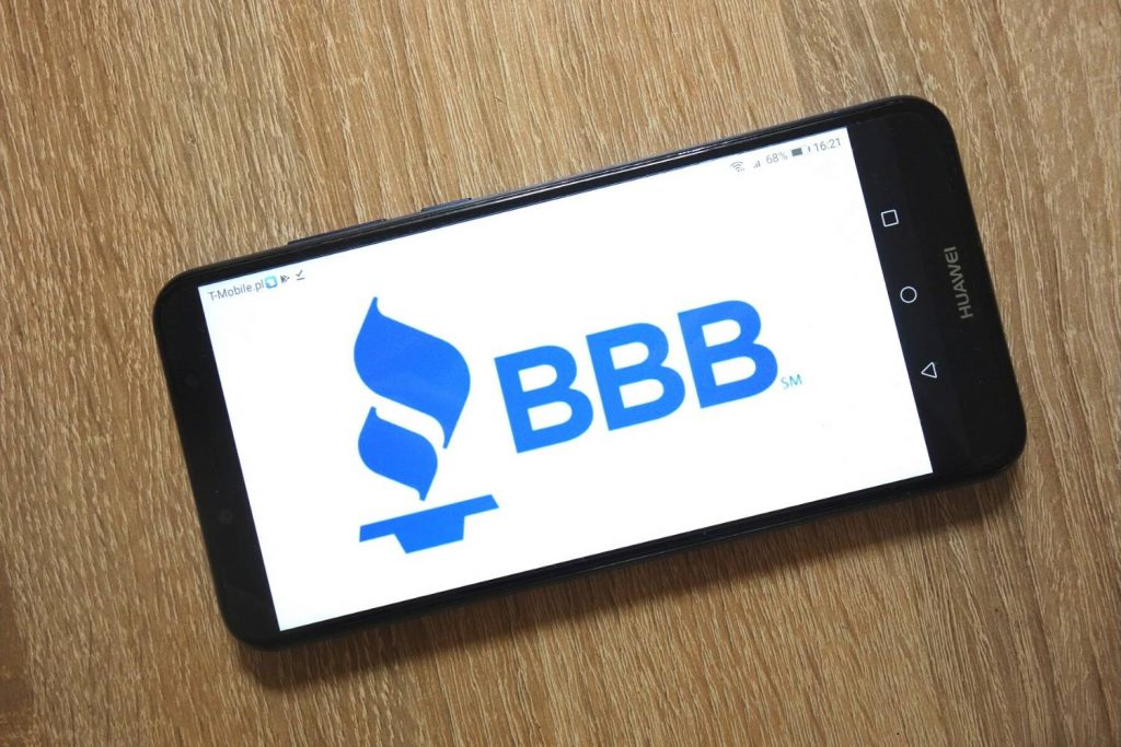 SendEarning BBB Ratings