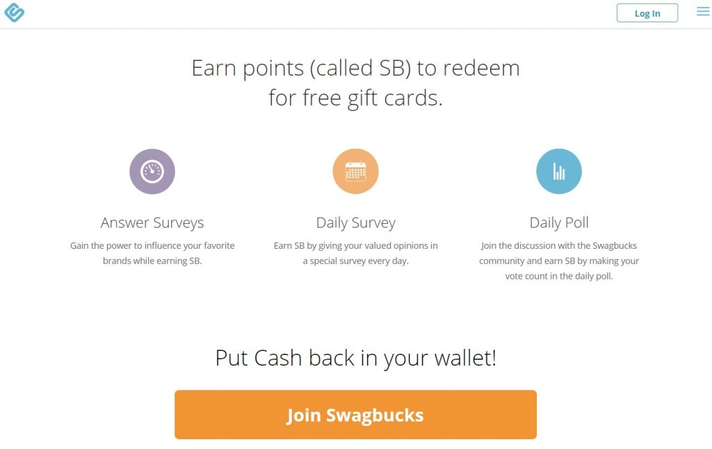 Swagbucks Earning Points
