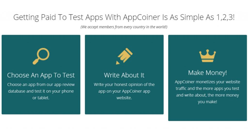 AppCoiner Things to Consider