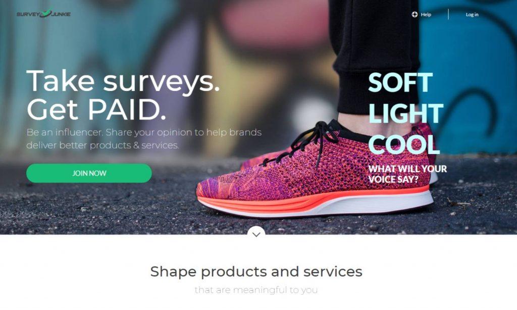 SurveyJunkie Survey