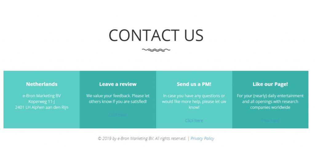SurveyWorld Customer Support
