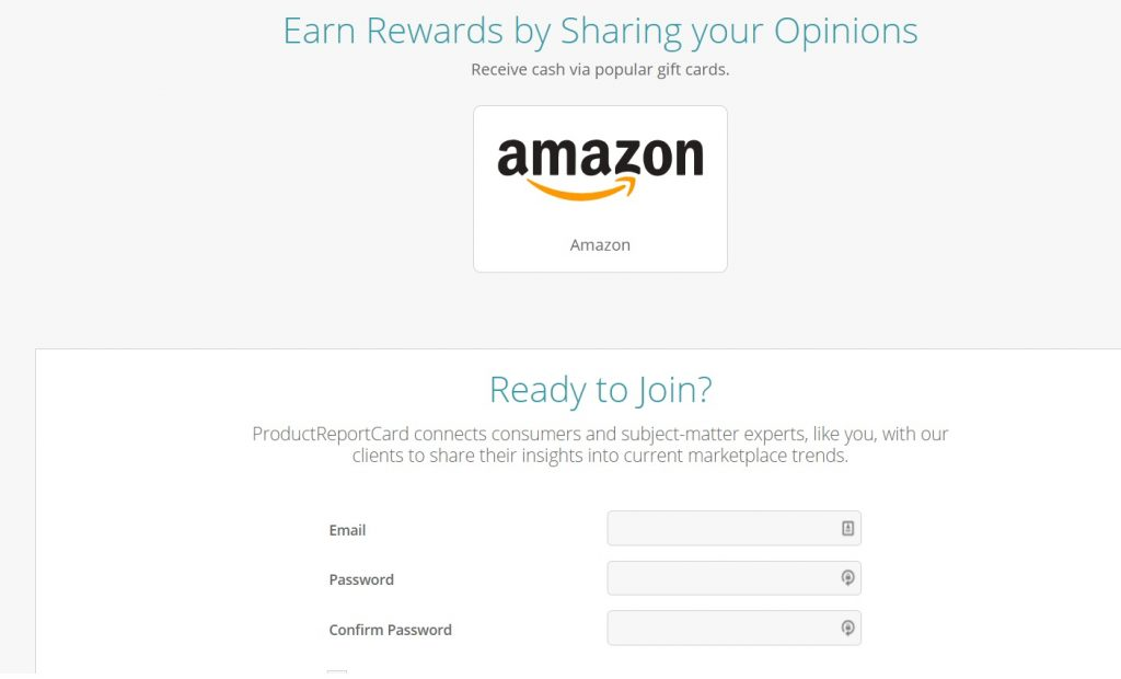 Product Report Card Rewards