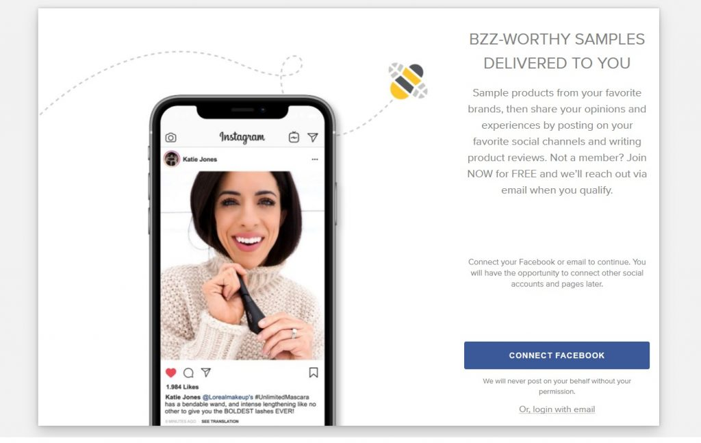 BzzAgent Join Page