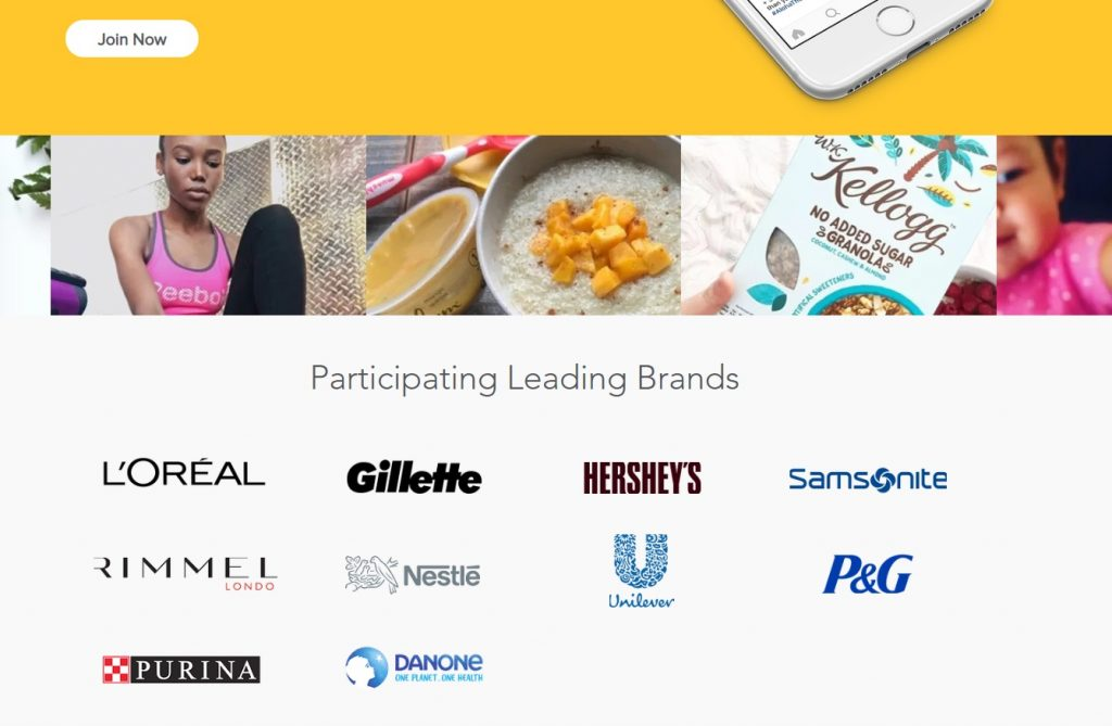 BzzAgent Participating Brands