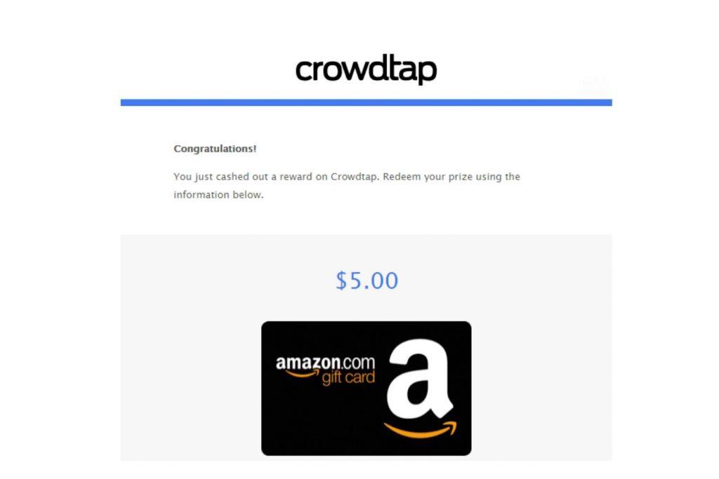 Crowdtap Redeem Points