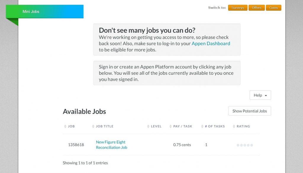 Neobux Mini Jobs