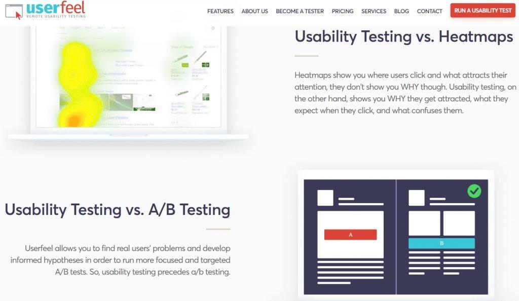 UserFeel Testing