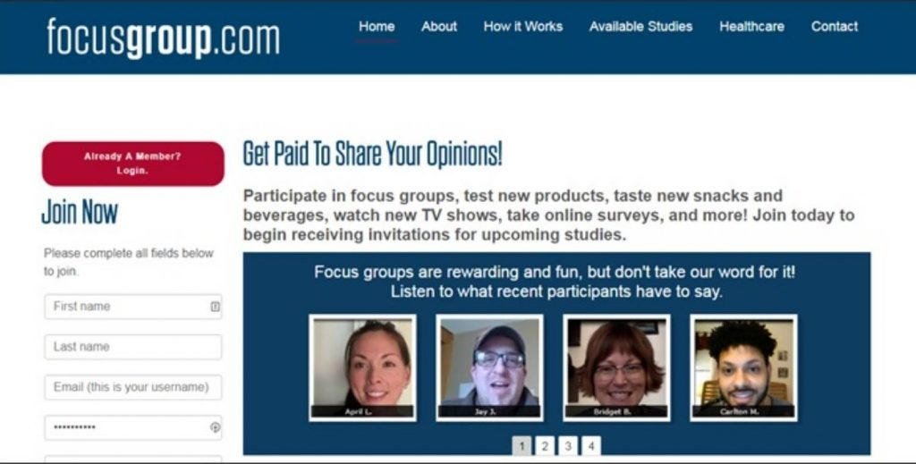 Focusgroup Review