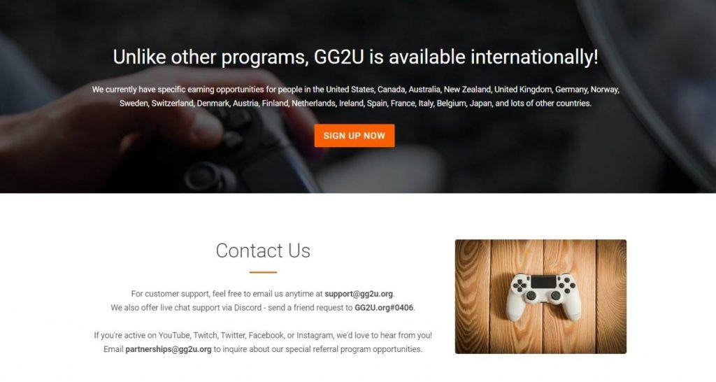 GG2U Conclusion